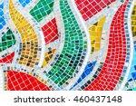 art mosaic glass or seamless... | Shutterstock . vector #460437148