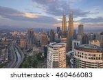 kuala lumpur  malaysia  ... | Shutterstock . vector #460466083