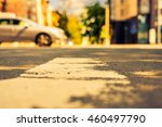 summer in the city  the car... | Shutterstock . vector #460497790