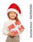 happy portrait of little girl... | Shutterstock . vector #460506580