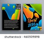 summer sport 2016 concept... | Shutterstock .eps vector #460509898