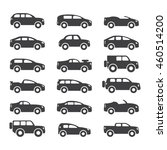 car icons set. vector... | Shutterstock .eps vector #460514200