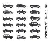 car icons set. vector... | Shutterstock .eps vector #460514200