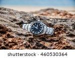 expensive swiss wrist watch... | Shutterstock . vector #460530364