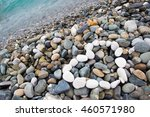 heart laid out with white...   Shutterstock . vector #460571980