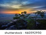 sunset  | Shutterstock . vector #460592950