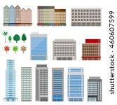 various building   Shutterstock .eps vector #460607599