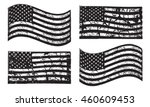 black and white usa american... | Shutterstock .eps vector #460609453