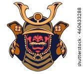 vector illustration of samurai... | Shutterstock .eps vector #460633288