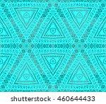 ethnic seamless pattern. ethnic ... | Shutterstock . vector #460644433