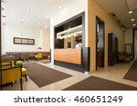 elegant hotel cafe interior | Shutterstock . vector #460651249