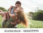 shot of young woman being... | Shutterstock . vector #460659994