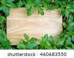 empty wood floor with background | Shutterstock . vector #460683550