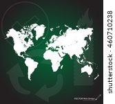 world map illustration | Shutterstock .eps vector #460710238