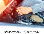 business man driver hand... | Shutterstock . vector #460747939
