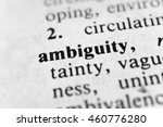 Small photo of Ambiguity