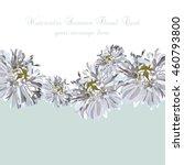 wedding invitation delicate...   Shutterstock .eps vector #460793800