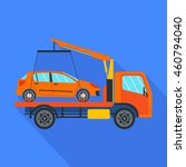 tow truck vector illustration...