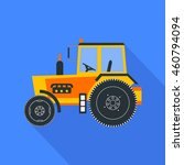 agriculture tractor vector...