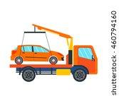 tow truck vector illustration...