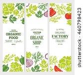 sketchy vegetables banner...   Shutterstock .eps vector #460798423