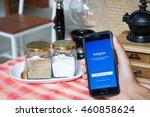 chiang mai  thailand   jun 7 ... | Shutterstock . vector #460858624