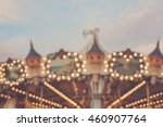 Vintage Carrousel   Blurred...
