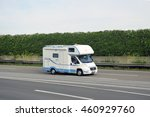 germany july 28 caravan on the
