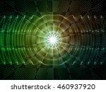 light waves series. composition ... | Shutterstock . vector #460937920