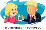 july 30  2016 caricature... | Shutterstock .eps vector #460949500