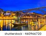 porto  portugal old town... | Shutterstock . vector #460966720