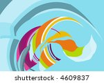 colorful background | Shutterstock .eps vector #4609837