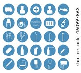 medical icons set   Shutterstock .eps vector #460997863