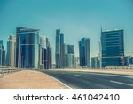 dubai business bay  united arab ... | Shutterstock . vector #461042410