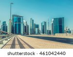 dubai business bay  united arab ... | Shutterstock . vector #461042440