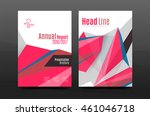 3d abstract geometric shapes.... | Shutterstock .eps vector #461046718