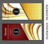 gift voucher. vector ...   Shutterstock .eps vector #461048356