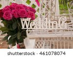 wedding decoration  craft ... | Shutterstock . vector #461078074