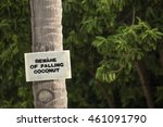 are you covered  beware of... | Shutterstock . vector #461091790