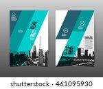 template design  layout ...   Shutterstock .eps vector #461095930