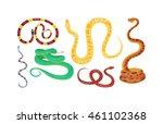 snake character wildlife nature ... | Shutterstock .eps vector #461102368