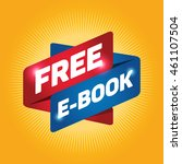 free e book arrow tag sign icon.