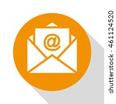 email icon vector illustration... | Shutterstock .eps vector #461124520