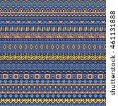 vector african style pattern... | Shutterstock .eps vector #461131888