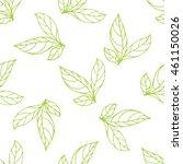 seamless pattern of leaf....   Shutterstock .eps vector #461150026
