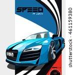 vector illustration. detailed... | Shutterstock .eps vector #461159380