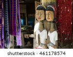 Wooden Dolls Of Karen Long Nec...