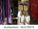 Wooden Dolls Of Karen Long Nec...