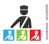 policeman icon. officer sign....