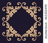 frame. frame border. borders... | Shutterstock .eps vector #461202490